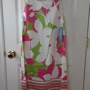NWT London Times Size 12 Sleeveless  Dress